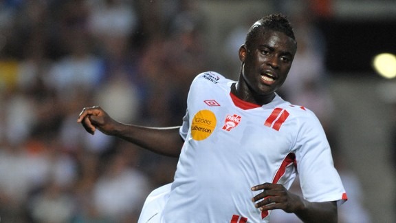 Sunderland target Alfred N'Diaye pictured during his Nancy days