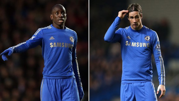 Demba Ba and Fernando Torres look set to battle for a single spot