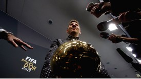 Lionel Messi is the centre of attention after winning yet another Ballon d'Or