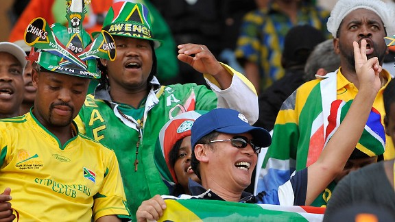 Bafana Bafana fans are wild about their national team