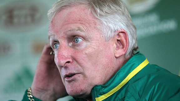 South Africa coach Gordon Igesund was a prolific striker