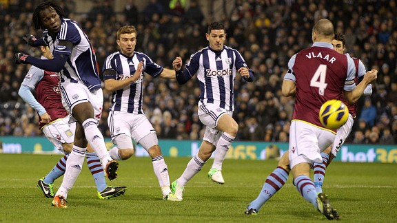 Villa's back three approach had pros and cons as they tried to deal with West Brom