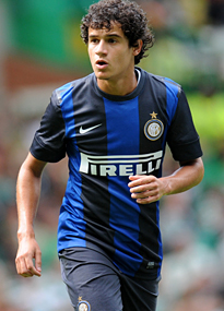 Philippe Coutinho joined Liverpool from Inter Milan