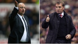 Rafa Benitez and Brendan Rodgers