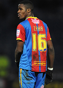 Wilfried Zaha loand back to Crystal Palace