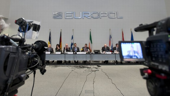 Europol cameras Hague match-fixing investigation