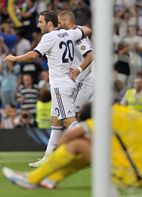 Gonzalo Higuain and Karim Benzema were key to success last season