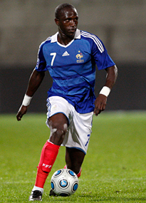 Moussa Sissoko makes his debut for France.