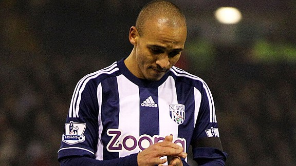 Peter Odemwingie has apologised to West Brom fans