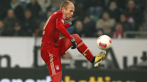 Arjen Robben is out of favour at Bayern Munich but helped his cause with a goal against Wolfsburg