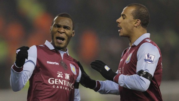 Christian Benteke, Gabby Agbonlahor 