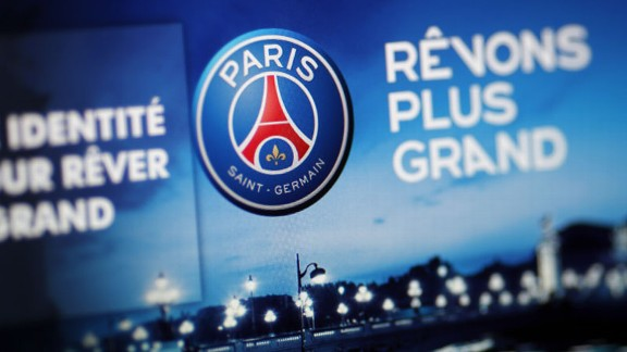 PSG new club logo