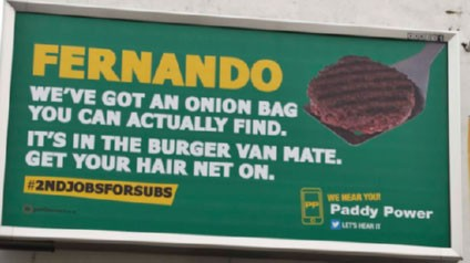 Paddy Power hand Fernando Torres some career advice