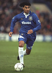 Ruud Gullit during his days as player/manager of Chelsea
