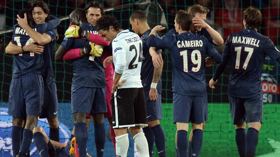 PSG scraped through at the expense of Valencia