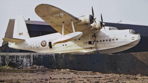 A Short Sunderland flying boat