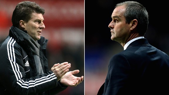 Michael Laudrup and Steve Clarke: Best new managers in the league