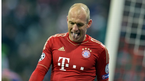 Arjen Robben: Quiet game against Arsenal