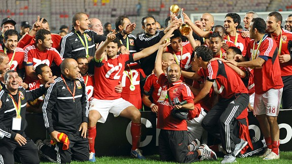 Egypt's Al-Ahly beat Esperance de Tunis 2-1 in last year's final