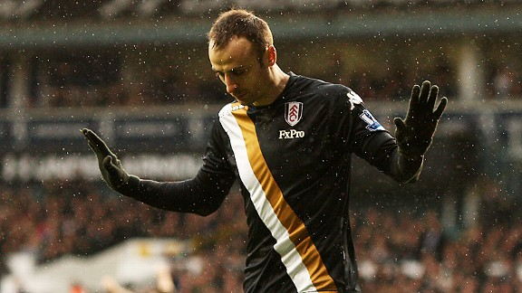 Dimitar Berbatov chooses not to celebrate after scoring Fulham's winner at old club Spurs