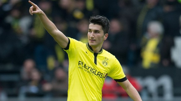 Nuri Sahin has made several Dortmund appearances this year