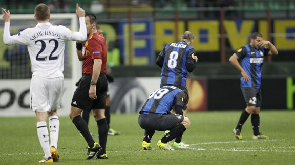 The postponement may be of benefit to Inter given that the players had to play 120 minutes against Tottenham