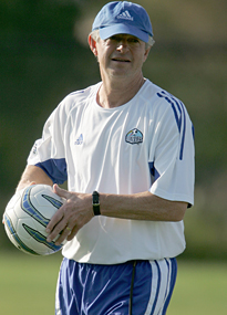 Bob Gansler was in charge of the US national team during WCQ