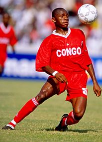 Congo's Camille Oponga in action at the 2000 African Nations Cup