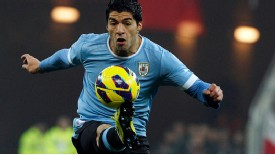 Liverpool's Luis Suarez  may have let his guard down while back home in Uruguay