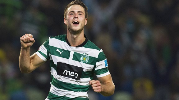 Ricky van Wolfswinkel has scored 22 goals in 44 starts for Sporting since signing from FC Utrecht