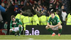 Ireland's hopes of World Cup qualification suffered a significant blow after being held by Austria