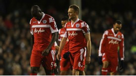 Chris Samba QPR players woe at Fulham