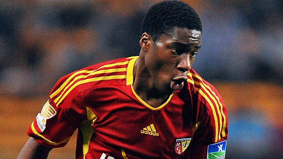 Geoffrey Kondogbia came through Lens' excellent academy