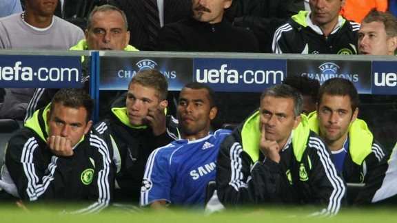 Jose Mourinho's last match as Chelsea manager came in a 1-1 draw with Rosenborg