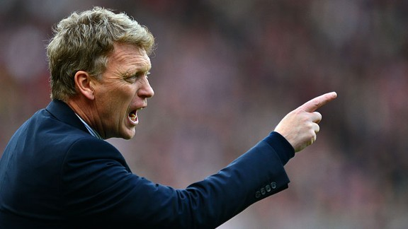 David Moyes Sunderland v Everton point