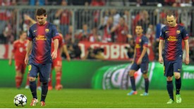 Barcelona's Champions League season looks over after defeat to Bayern