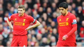 Steven Gerrard has been quick to paint Luis Suarez is a positive light throughout the season