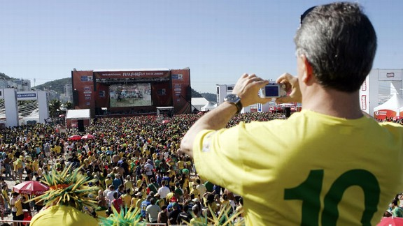 Brazil fans will use a caxirola instead of a vuvuzela at the 2014 World Cup