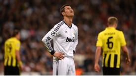 Cristiano Ronaldo suffered Champions League semi-final heartache against this season