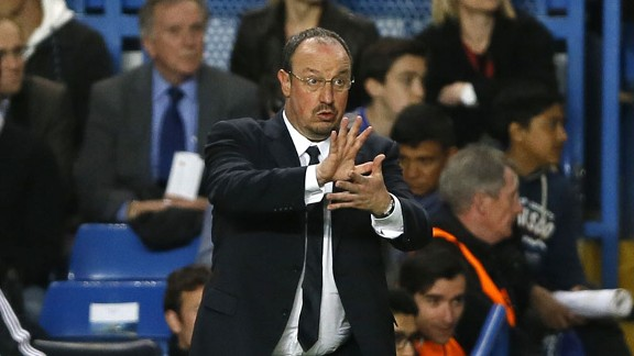Rafa Benitez can be forgiven a smile after booking Chelsea a place in the Europa League final