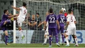 Pablo Daniel Osvaldo scores a late winner for Roma