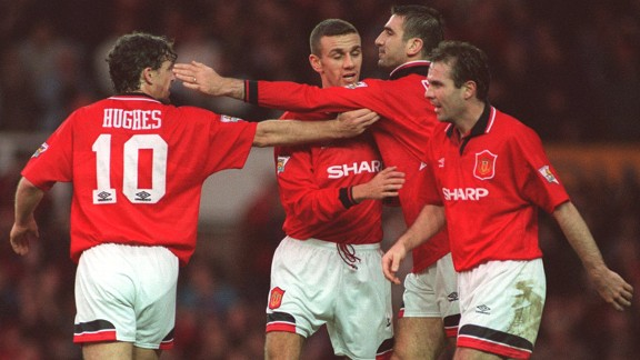 Man Utd enjoyed a crucial win against Norwich in 1993