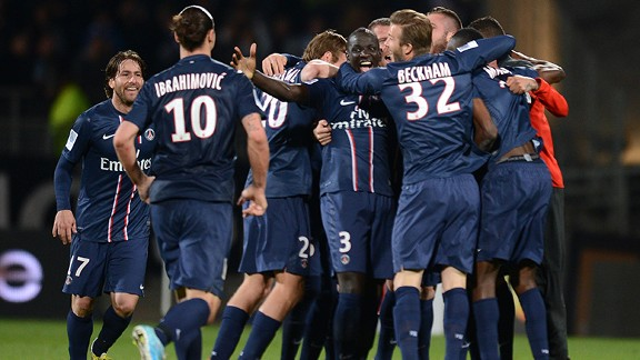 Paris Saint-Germain clinched the Ligue 1 title