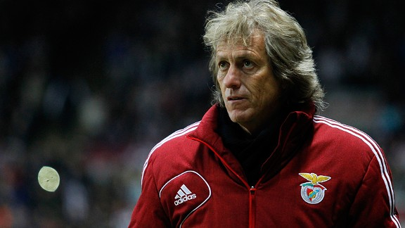 Jorge Jesus: Has rekindled Benfica's swashbuckling all-out attacking style