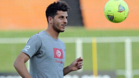 Esperance captain and Tunisia defender Khalil Chammam