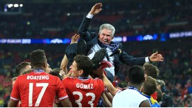 Jupp Heynckes and Bayern secured sweet redemption at Wembley