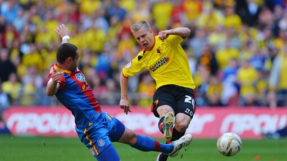 Matej Vydra has spent the season on loan fro Udinese, and scored 22 goals