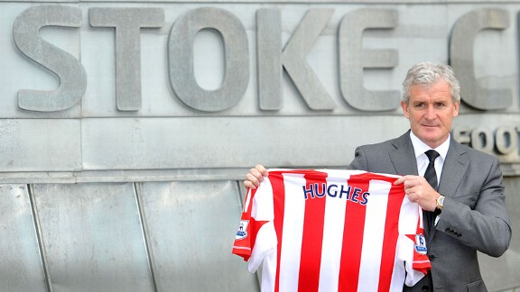 Mark Hughes replaces Tony Pulis as manager of Stoke City