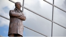 Sir Alex Ferguson's statue stands as a permanent reminder of his success at Old Trafford