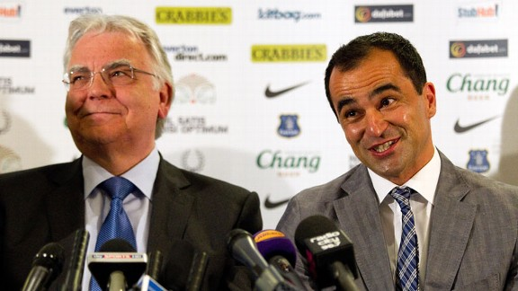 Bill Kenwright, Roberto Martinez